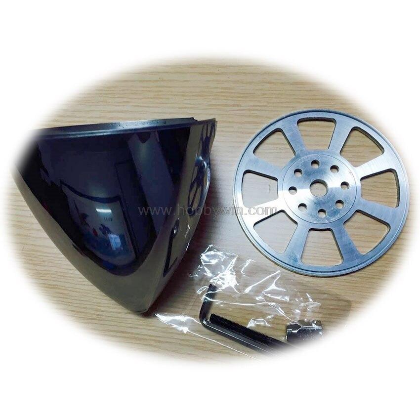 4 fente En Aluminium Spinner 102mm/4in pour DLE moteur à gaz 4-lame hélice RC Modèle Avions