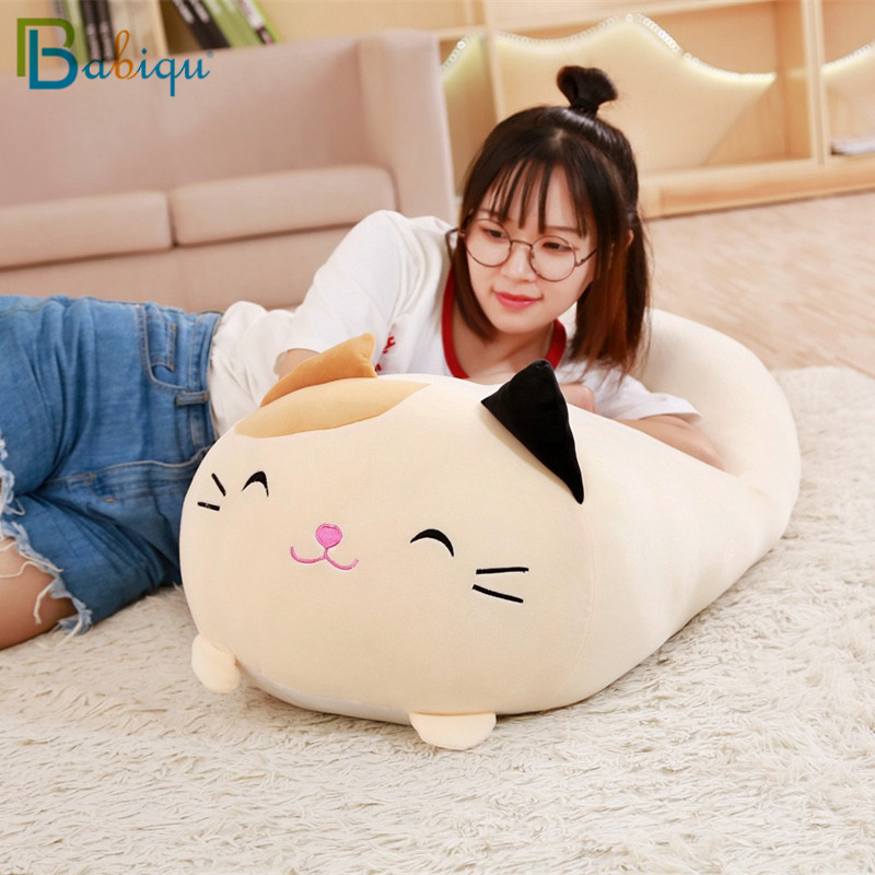 Cute Fat Dog Cat Penguin Pig Frog Plush Toy Stuffed Soft Animal Cartoon Pillow Lovely Kids Toy Birthyday Present Friends image