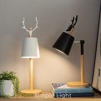 Европейский минималистский работа в офисе led настольные лампы Кабинет библиотека защитный зрение настольная лампа Спальня ночники светиль