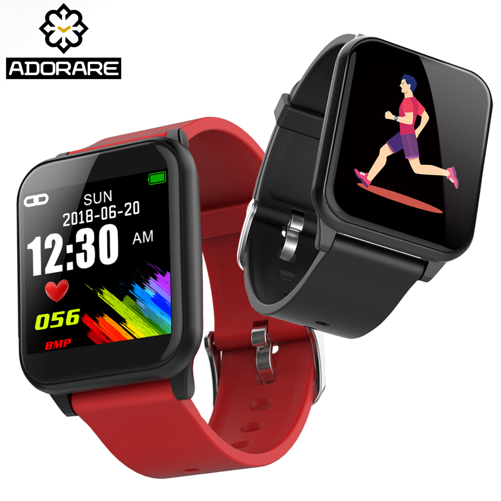 ADORARE Smart Sport Watch Color Screen Heart Rate Monitor Activity Fitness Tracker Pedometer Image Display Smart Bracelet Band adorare cd10 smart watch women men bluetooth heart rate monitor fitness tracker smart bracelet pedometer sport wristband