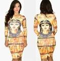 Африканские Платья Одежда Традиционный Бросился Прямых Продаж Полиэстер Headtie 2016 Женская Мода Красота Элегантная Одежда