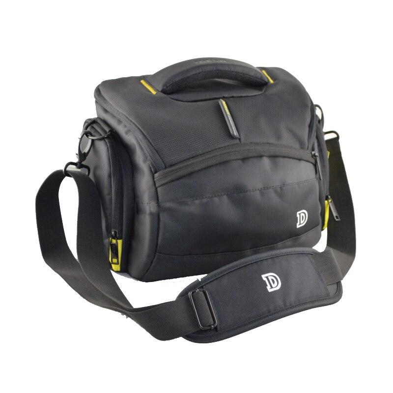 Impermeabile Camera Bag Custodia Per Nikon D800 D810 D90 D3200 D3300 D3400 D7000 D7200 D750 D5500 D610 D600 Con La copertura della Pioggia Della Cinghia