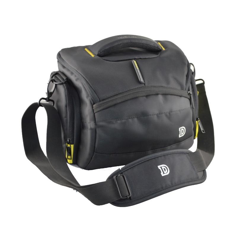 Waterproof Camera Bag Case For Nikon D800 D810 D90 D3200 D3300 D3400 D7000 D7200 D750 D5500 D610 D600 With Rain cover Strap 2 5mm remote shutter release cable connecting for nikon df d750 d7100 d5500 d5300 d3200 d3300 d600 d610 d90 as 3n n3 dc2 cable m