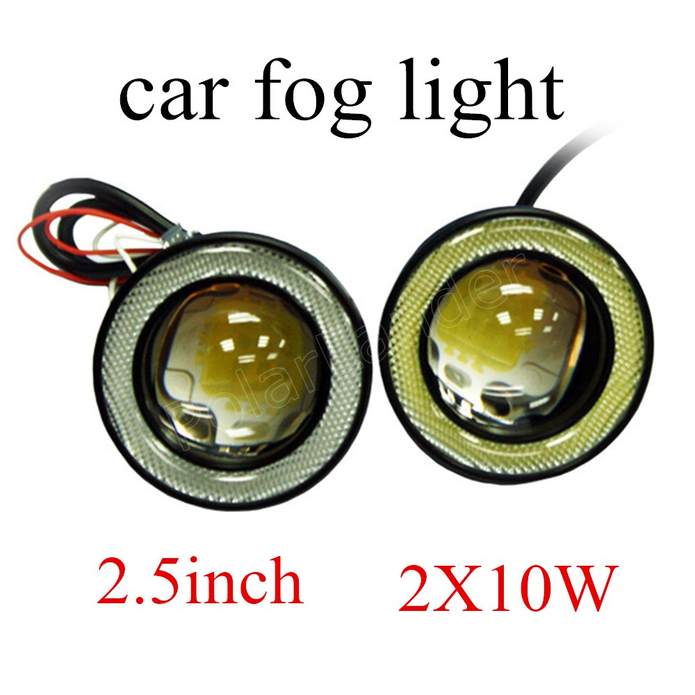 2.5 inch 10W LED Driving Light car roof light angle eye lamp bulbs 12V best selling 2 pieces top sale