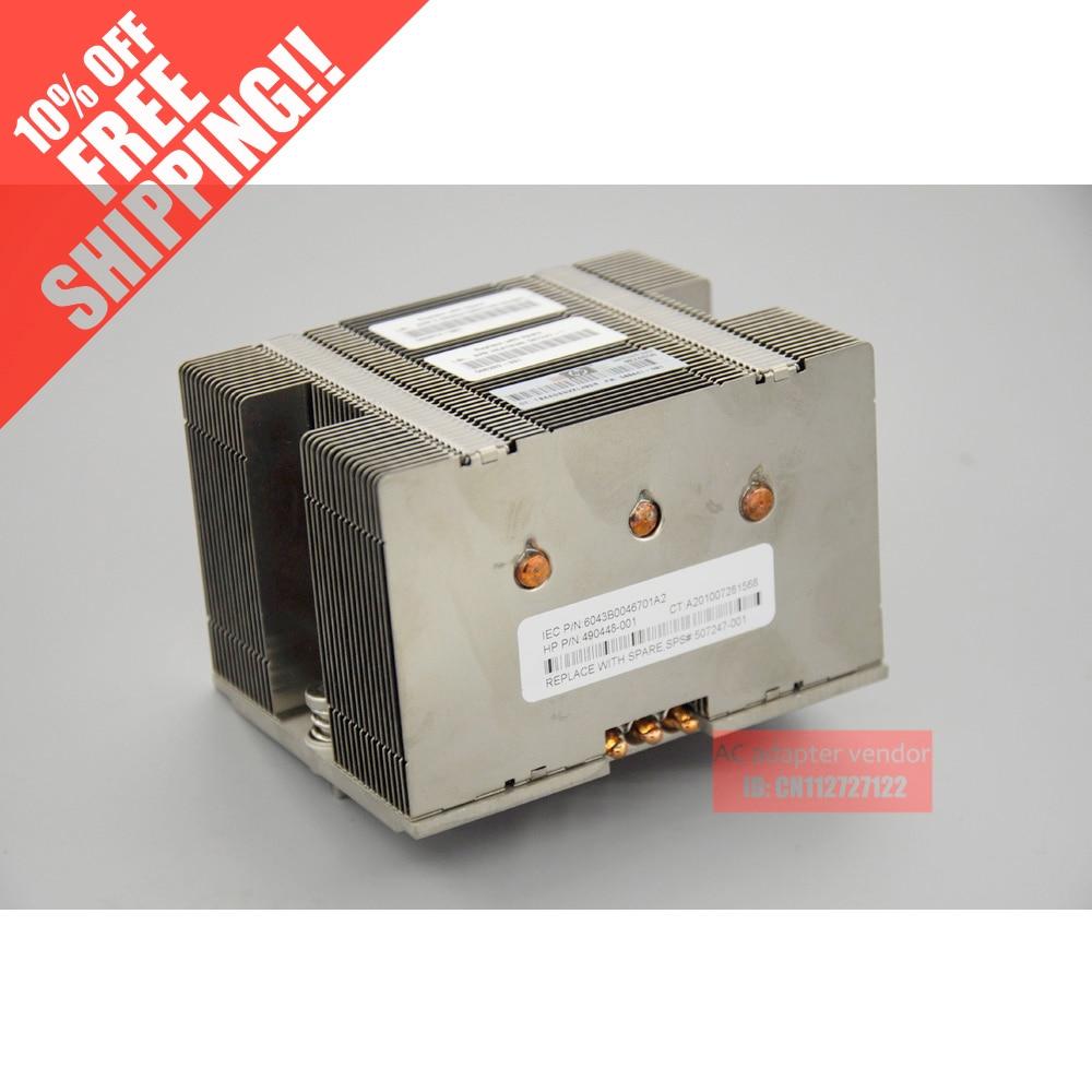 FOR HP DL180G6 2U heatsink the heatsink heatsink 180G6 Server 507247-001heat sink radiator