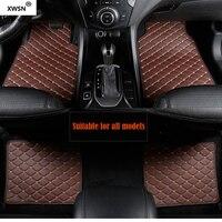 Universal car floor mat for Jaguar All Models Jaguar XF 2008 2018 XE XJ F PACE F TYPE Car accessories car mats