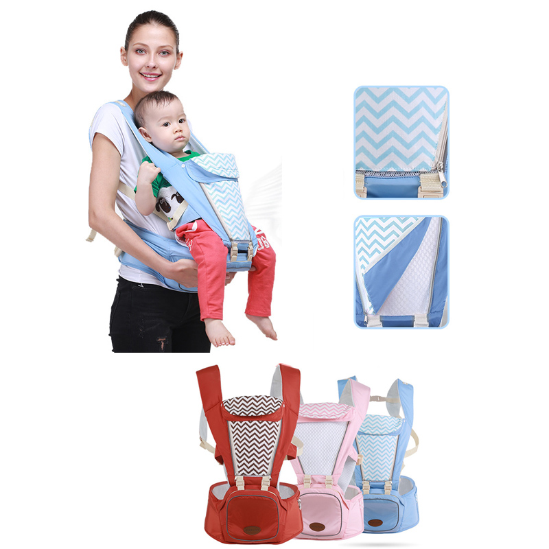 Ainomi 0-36 Months Breathable Front Facing Baby Carrier Infant Comfortable Sling Backpack Pouches Wrap Baby Kangaroo New breathable baby carrier backpack portable infant newborn carrier kangaroo hipseat heaps sling carrier wrap