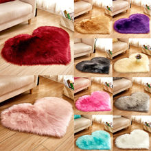 цена на Fluffy Rugs Anti-Skid Shaggy Area Rug Dining Room Home Bedroom Carpet Floor Mat HOT