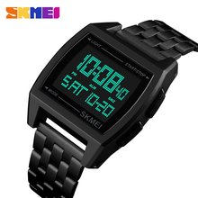 SKMEI Top Sports Watch Womens 30m Waterproof Multifunction LED Digital Watch Business Casual Wrist Watch Models Relogio Watches new fashion led sports running watch date pu bracelet digital wrist watch sports watch womens mens fitness watch