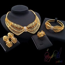 Costume jewelry new york Designer jewelry Fashion necklace 2016 dubai gold
