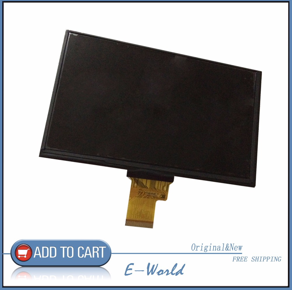 IPS 7.0 inch TFT LCD Screen KR070LF7T Tablet PC Display Inner Screen original 7 inch lcd display kr070lf7t for tablet pc display lcd screen 1024 600 40pin free shipping 165 100mm