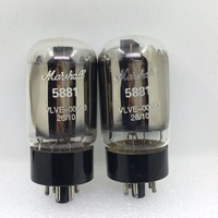 2PCS LOT Marshall Tube 5881 6L6WGC Upgrade 6CA7 6P3P EL34 6L6GC KT88 DIY HIFI
