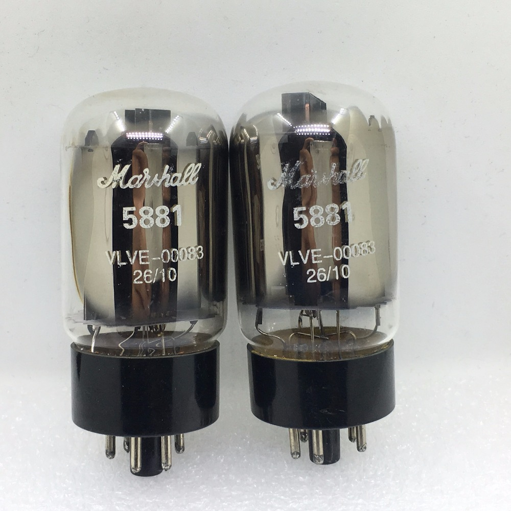 2PCS/LOT Marshall tube 5881 6L6WGC upgrade 6CA7 6P3P EL34 6L6GC KT88 DIY HIFI tad rt212 tube 6l6gc str duett