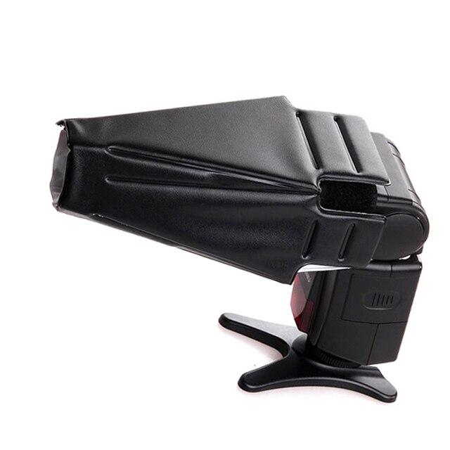 10 יח\חבילה אוניברסלי מתקפל פלאש אור Speedlite רפלקטור הסנוט רך מפזר צינור עבור DSLR מצלמה Nikon Canon Sony Yongnuo