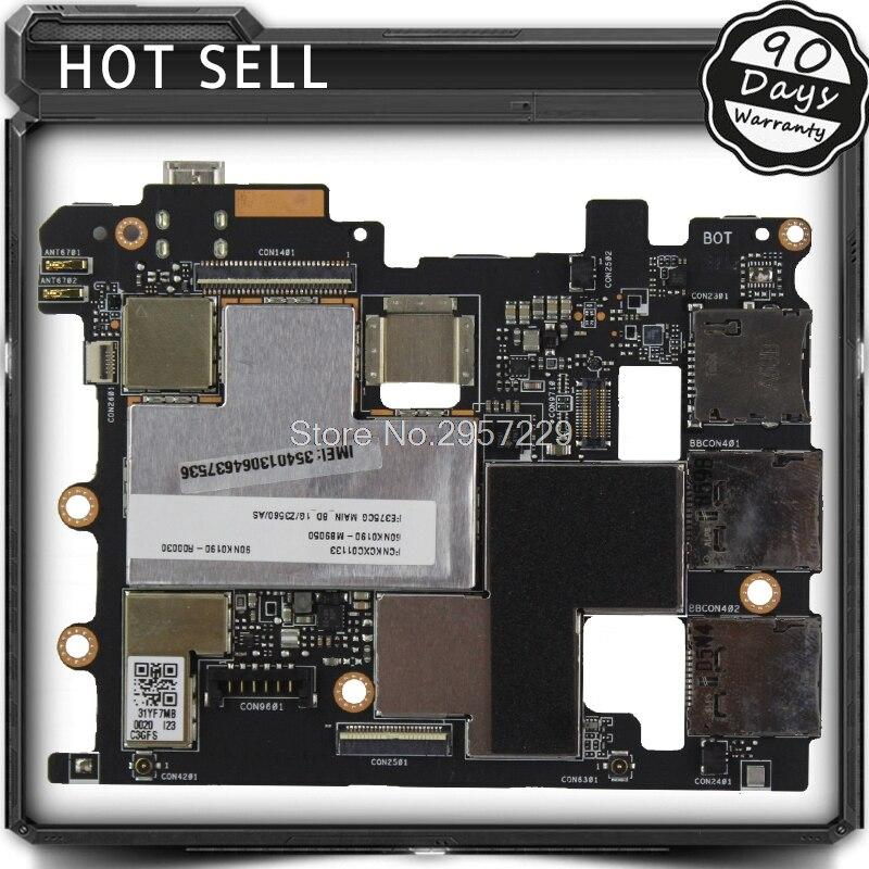 Оригинальная материнская плата для планшета, системная плата для Asus Fonepad 7 FE375CG 16 ГБ, полностью протестирована, все функции работают хорошо