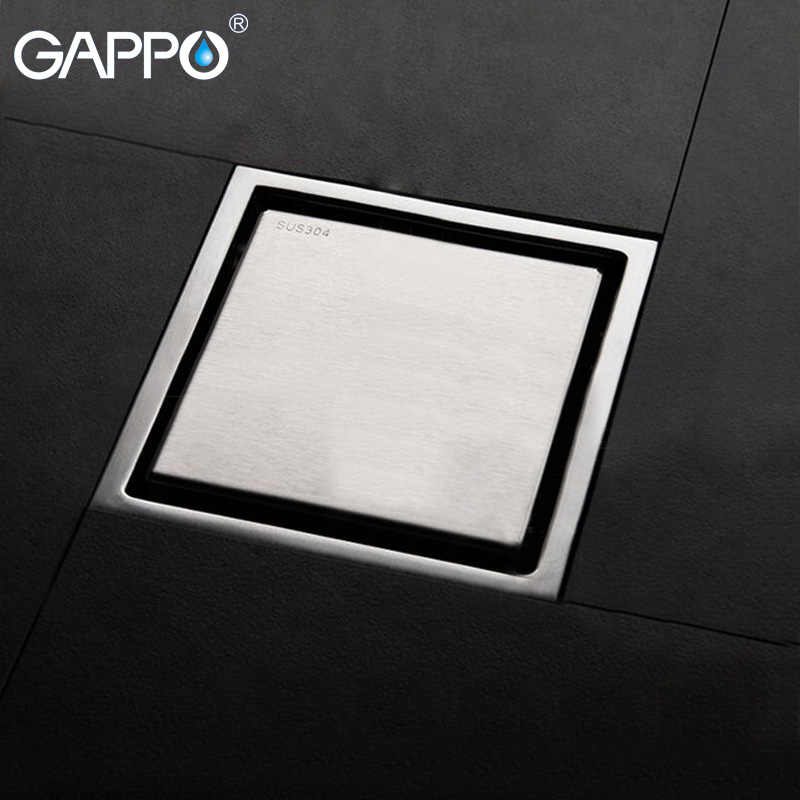 GAPPO ванная комната дренаж Ванна Душ слив напольный фильтр из нержавеющей стали напольный душ слив заглушка душ