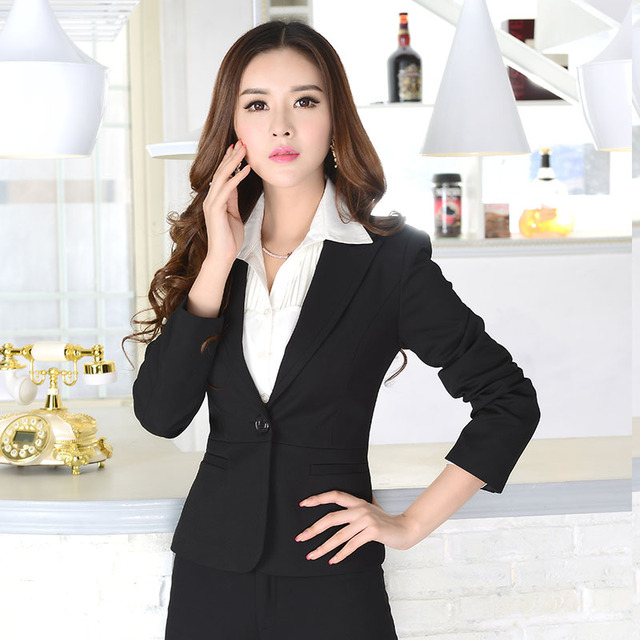 2017 Spring pure cotton Single button Slim Fit small Suit Jackets ladies Skinny plus size blazers and jackets Coats young women