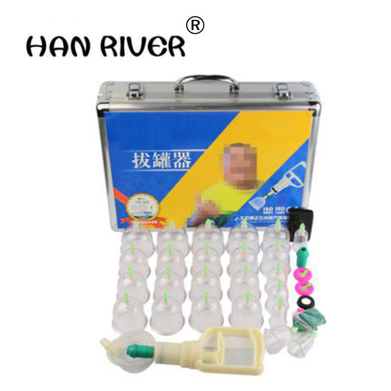 Cupping is aluminum alloy hardcover 24 cans of high-grade health care gifts Vacuum magnetic therapy can tank body massager vacuum pump inlet filters f007 7 rc3 out diameter of 340mm high is 360mm