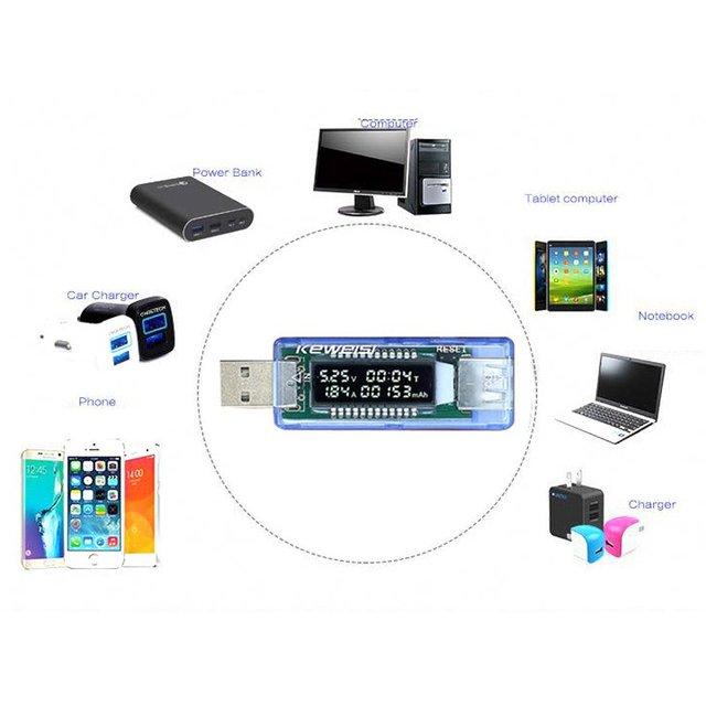 Mobile Power Voltage Current Meter USB Charger Doctor3 in 1 Battery Tester Voltage Current Detector