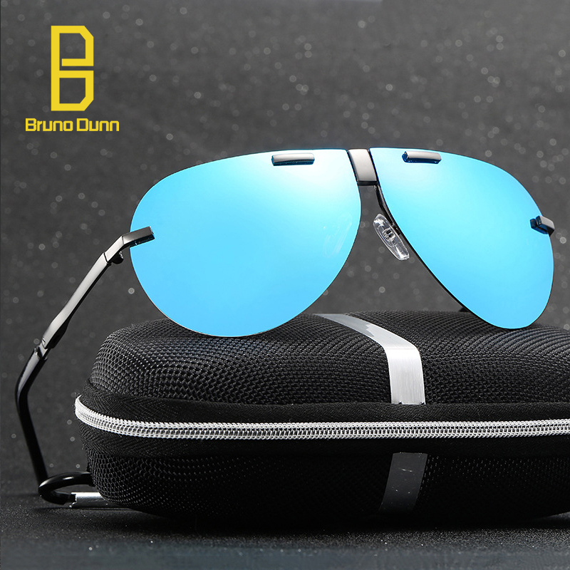 Mercedes Brand Design Men font b Sunglasses b font 2017 Folding Aviation Polarized Sun Glases Vintage