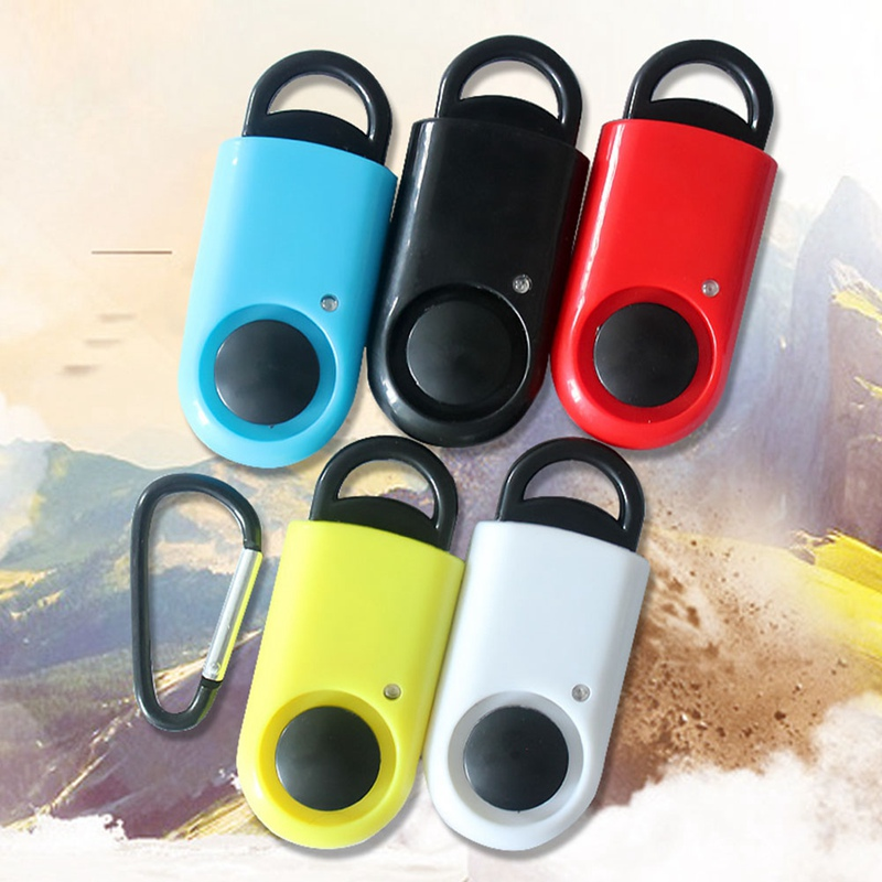 120dB Self Defense Alarm Girl Women Security Protect Alert Personal Safety Scream Loud Keychain Emergency Alarm