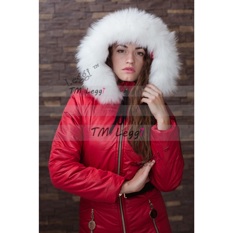 Women Down Jackets Winter Girl's Bodysuits Down Snow Wear Female Jumpsuits with Large Natural Fur Cap стоимость