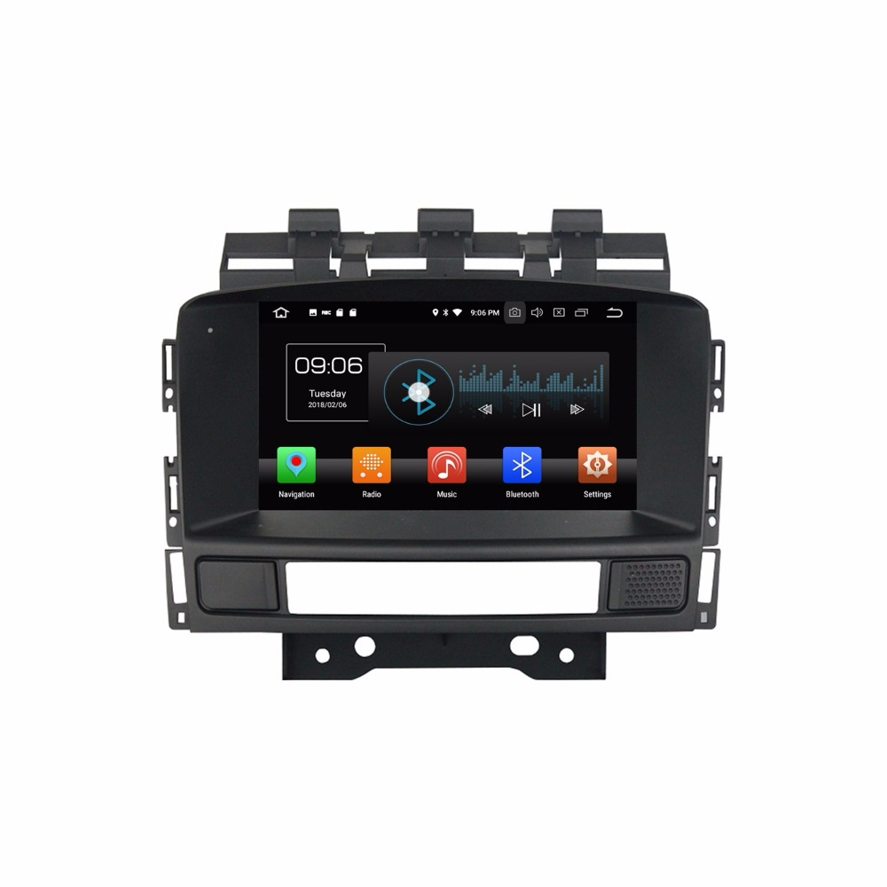 Android 8.0 Octa Core 7 Voiture Multimédia DVD GPS pour Opel Astra J 2010 2011 2012 2013 Avec Radio 4 GB RAM Bluetooth WIFI 32 GB ROM