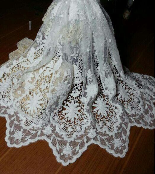 Wedding Gown Fabrics Guide: White Bridal Lace Fabric Wedding Dress Fabric,Wedding Gown