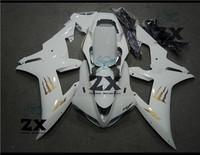 Complete Fairings For YAMAHA YZF R1 2002 2003 Plastic Kit Injection Motorcycle Fairings white and stickers