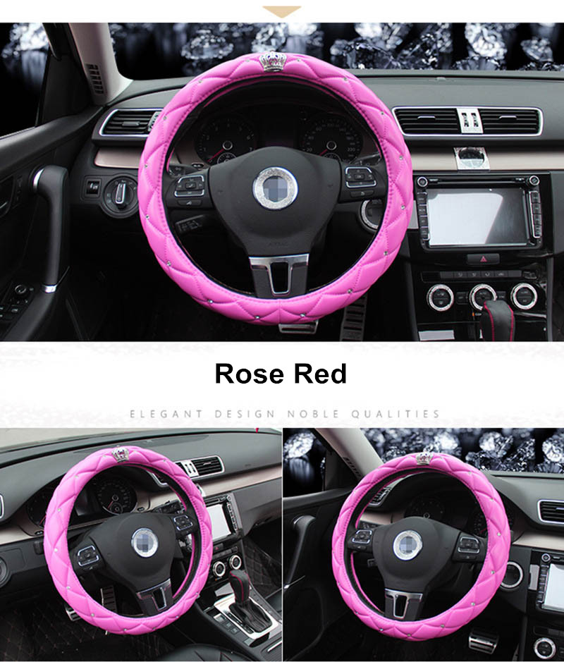leather steering wheel cover 10