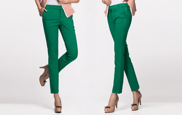 18 NEW women's casual OL office Pencil Trousers Girls's cute 12 colour Slim Stretch Pants fashion Candy Jeans Pencil Trousers 9