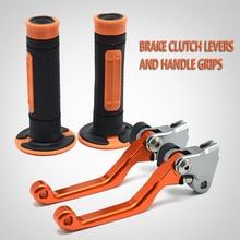 Motorcycle Brake Clutch Levers Handle Hand Grips Set For KTM RC200 RC390 RC 200 390 Duke200 Duke250 Duke390 2013 2014 2015 2016