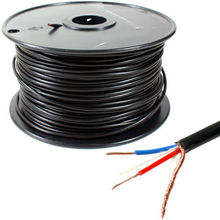 KL High Quality  100M MIC BULK CABLE 24AWG with black color.