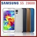 Desbloqueado samsung s5 i9600 g900f g900a g900h s5 originais 2 gb + 16 gb quad core 3g & 4g 16mp gps wifi remodelado telefone móvel