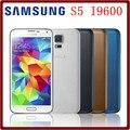 S5 original desbloqueado samsung s5 i9600 g900f g900a g900h 2 gb + 16 gb quad core 3g y 4g 16mp gps wifi reformado teléfono móvil