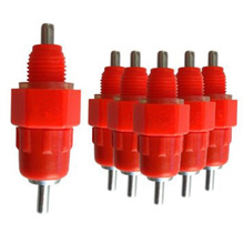 25pcs Chicken Nipples Waterers Heavy Duty Stainless Steel Poultry Waterer Feeding System