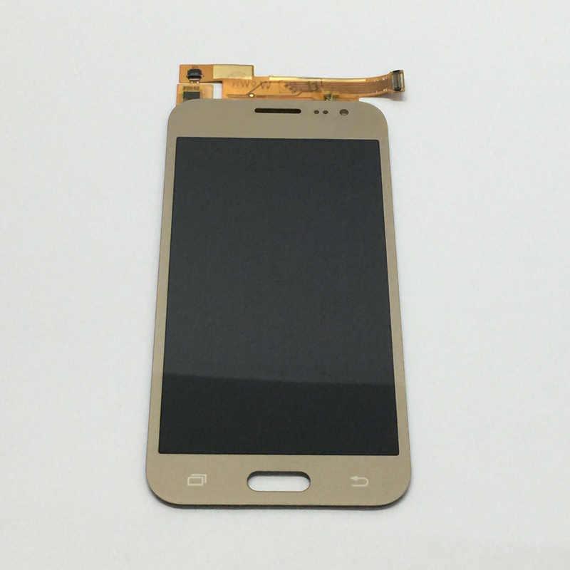 Sensor de cristal del digitalizador de la pantalla táctil + Montaje del Monitor de la pantalla LCD para Samsung Galaxy J2 2015 J200 J200F J200Y J200H