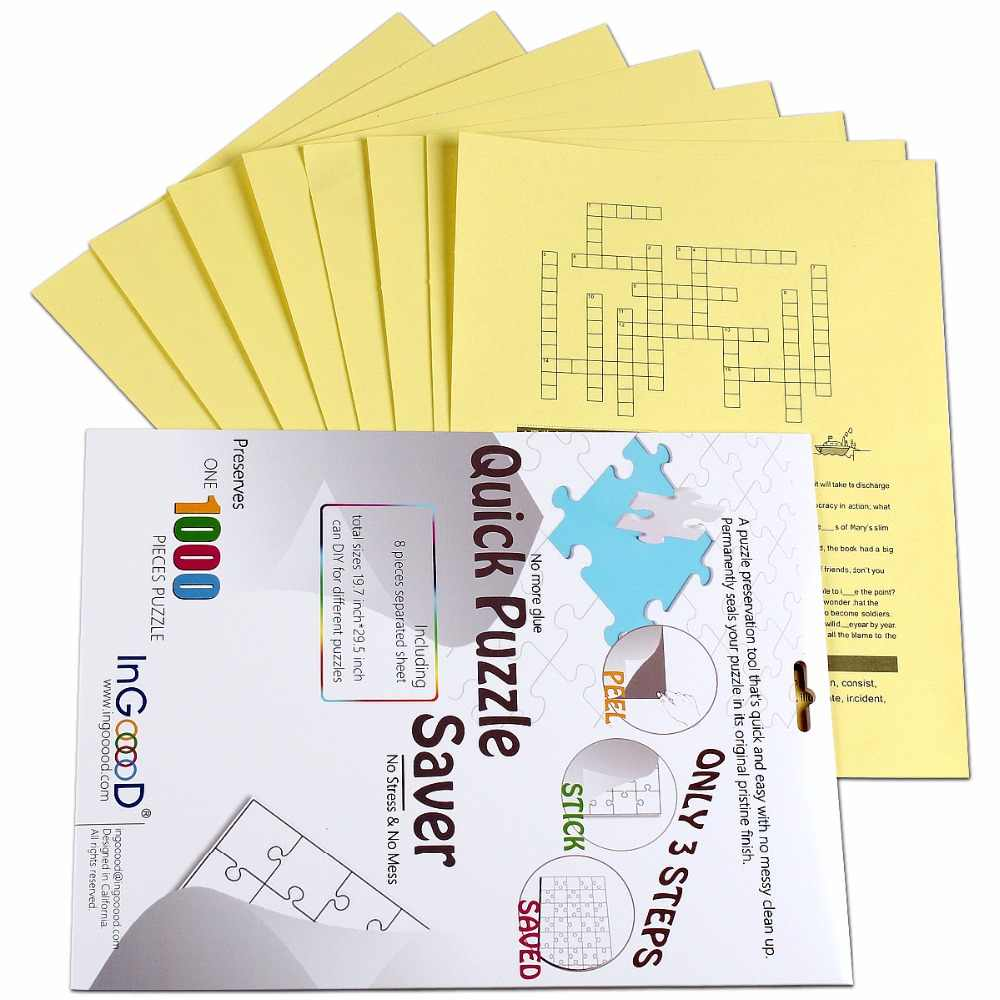 Detail Feedback Questions about Ingooood Puzzle saver Sheet