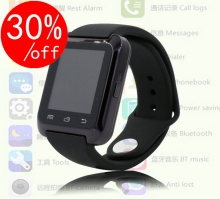 Bluetooth Smart Uhr Sport 3 farben für iPhone 4/4 S/5/5 S/6/6 + Samsung S4/Note/s6 HTC Android Phone Smartwatch Uh0