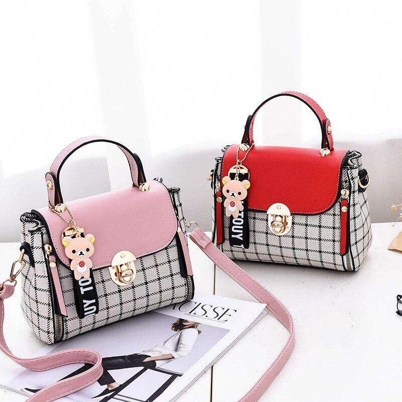 Haben Sie Einen Fragenden Verstand Neue Frauen Handtasche Mode Luxus Handtasche Weibliche Tote Designer Handtasche Dame Berühmte Marke Tasche Geldbörsen Und Messenger Tasche Duoxi 100% Original