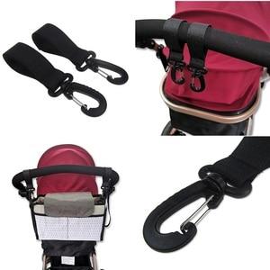 2 шт./компл. многофункциональные крючки для детской коляски, вешалки, крючки для детских подгузников, сумка для коляски, аксессуары для коляс...