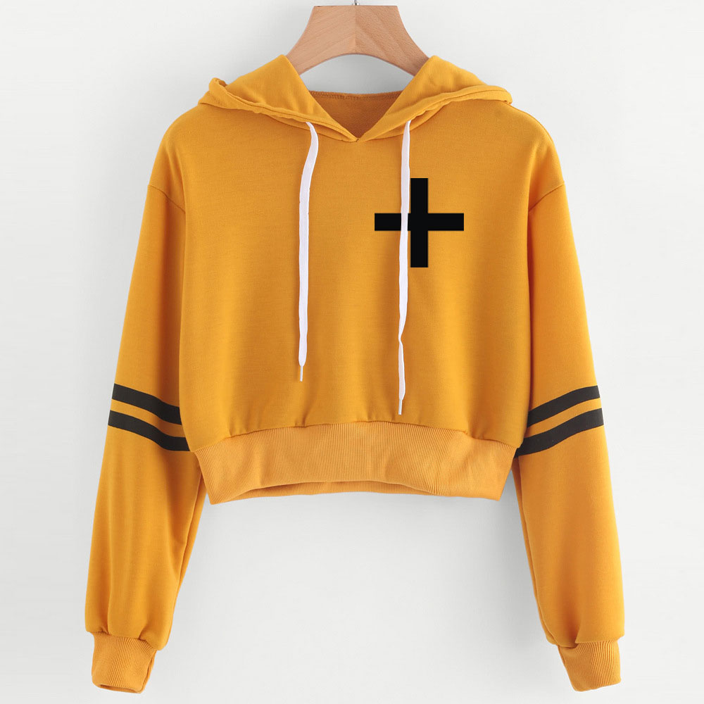TXT Tomorrow X Together Cropped Hoodies