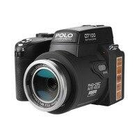 D7100 Digitale Camera 13MP Ondersteuning 33MP Full-HD Auto Focus met 24x Optische Zoom Telelens + Groothoek Lens HD Camcorder