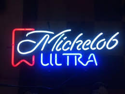 Michelob Ultra Neon Light Sign Beer Bar