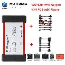 Multidiag Pro,00 реле для автомобиля BMW для грузовика Scania OBD2 Bluetooth сканер OBD 2 OBD2 автомобильный диагностический инструмент ODB2