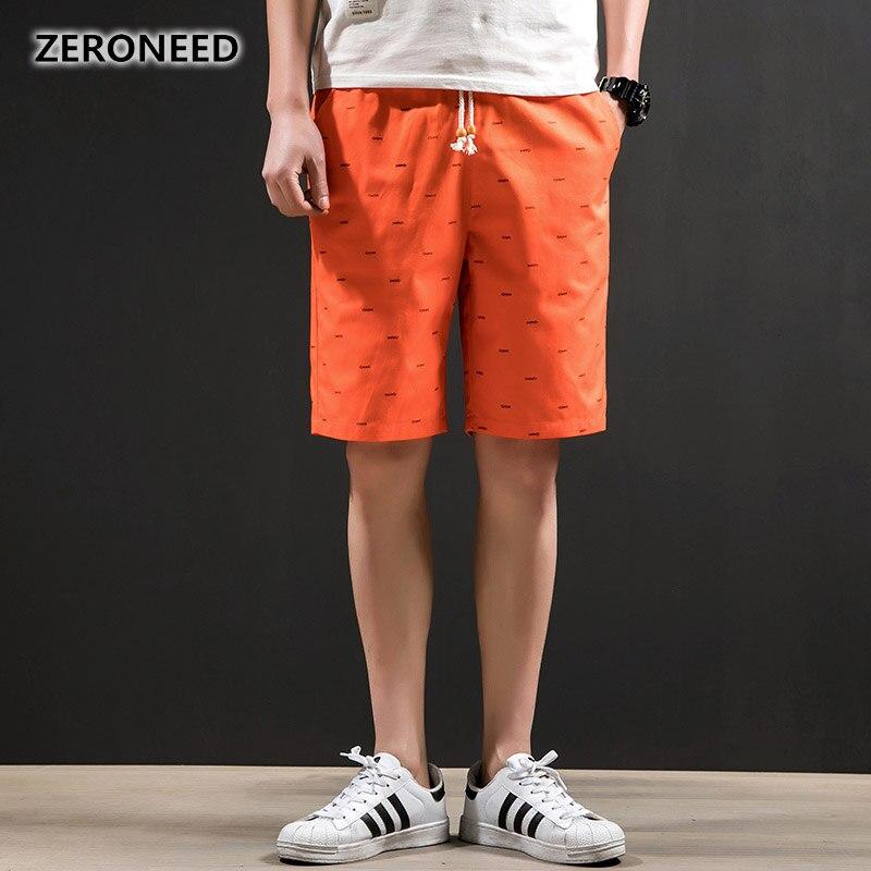 Zeroneed Marke Shorts Männer 2018 Mode Baumwolle Atmungsaktiven Komfort Casual Männlich Marke Kleidung Shorts Homme Bermuda Hosen 299 GroßE Sorten Herrenbekleidung & Zubehör