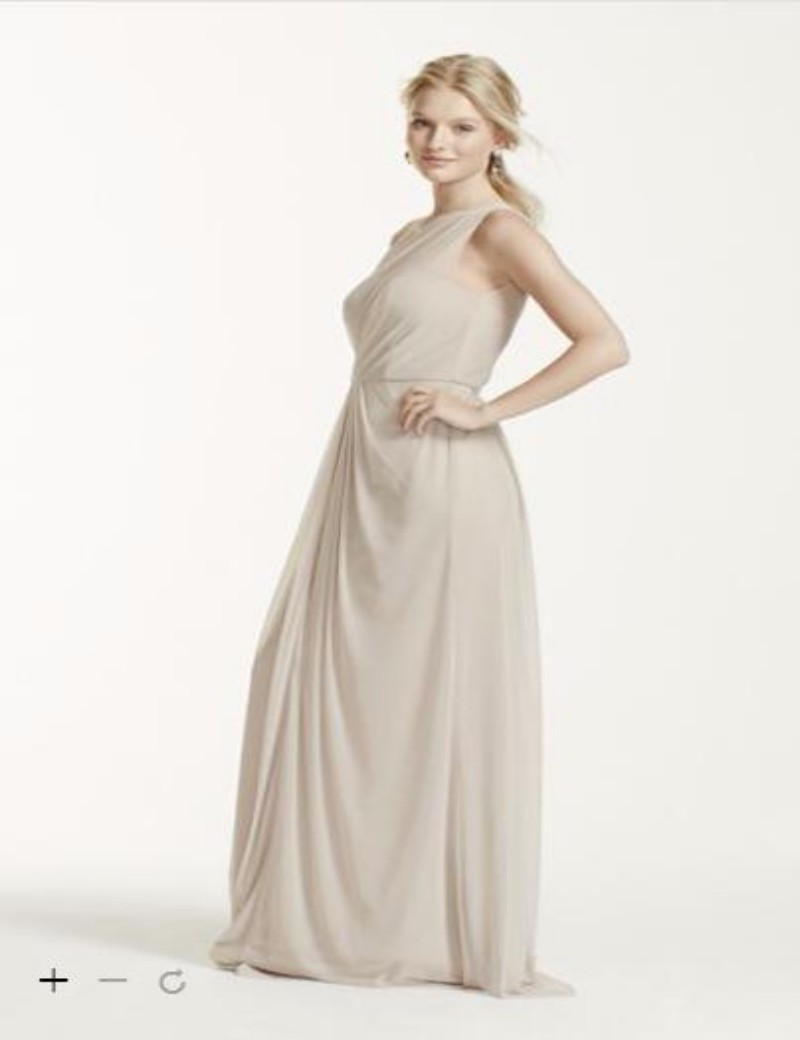 2016 front slit bridesmaid dresses a line lace bodice and chiffon 2016 front slit bridesmaid dresses a line lace bodice and chiffon long strapless dress david bridal f15928 bridesmaid dress in bridesmaid dresses from ombrellifo Images