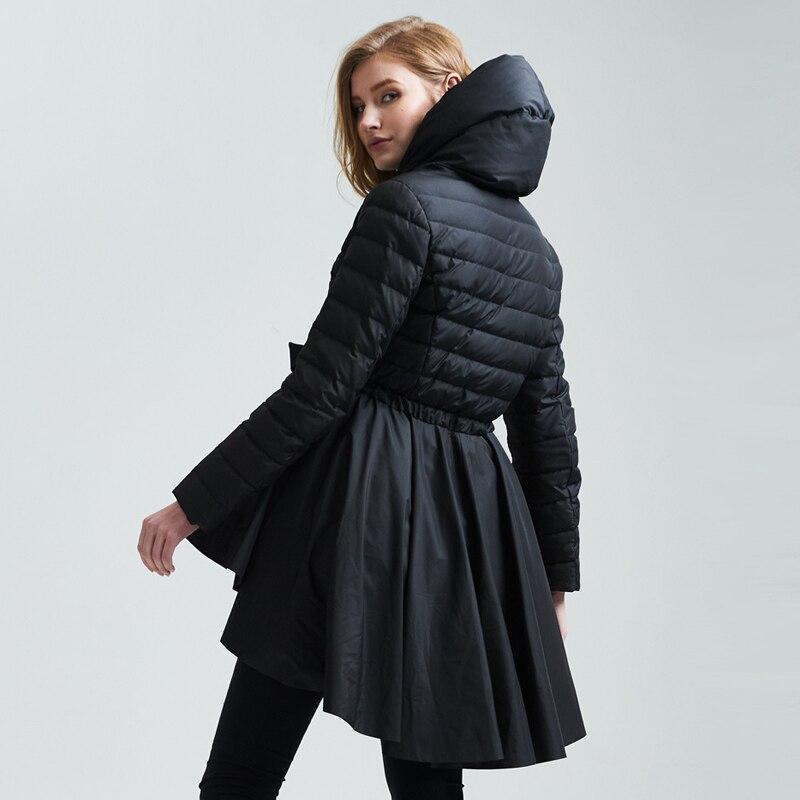 Outwears Manteaux Nouveau Blanc Thickning Noir Élégant Femmes Vestes Slim Le À 90 Marque Noir Ceintures Vers Canard Ao297 blanc D'hiver Duvet Bas De Capuchon qnRCr6qZ