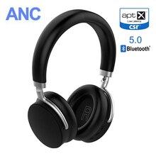 VIKEFON AptX низкая Задержка/Aptx LL Bluetooth наушники ANC 5,0 Беспроводная гарнитура наушники с активным шумом отмена 20 H время работы