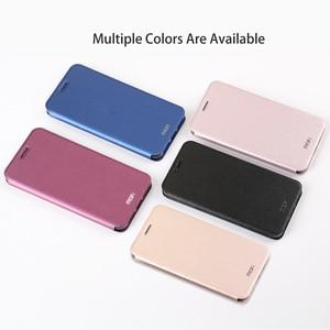 Image 2 - MOFi Case for Redmi Note 7 Case for Redmi Note 7 Pro Flip Case for Xiaomi Redmi Note 7 PU Leather Transparent TPU Protect Capas
